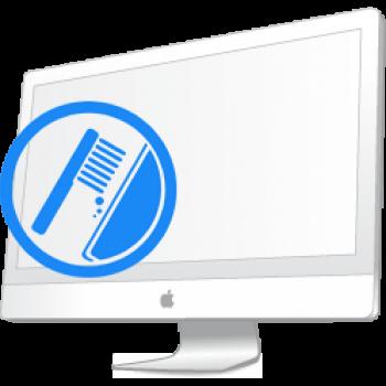 """Ремонт Ремонт iMac и MacBook Профилактика: чистка и замена термопасты iMac 21.5"""" (A1311) и 27"""" (A1312) 2009-2011 Профилактика iMac A1311 A1312"""