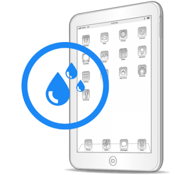 Чистка iPad Pro 12.9'' после попадания влаги