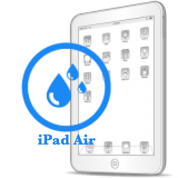 iPad Air- Чистка после попадания воды