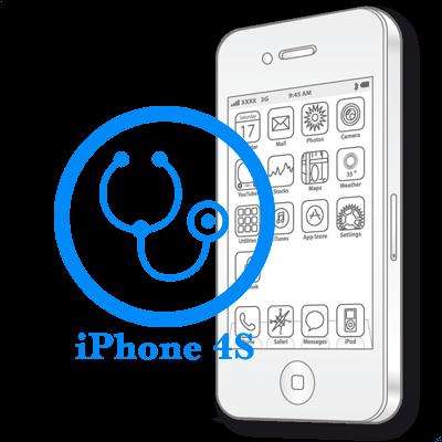 Ремонт iPhone 4S Діагностика