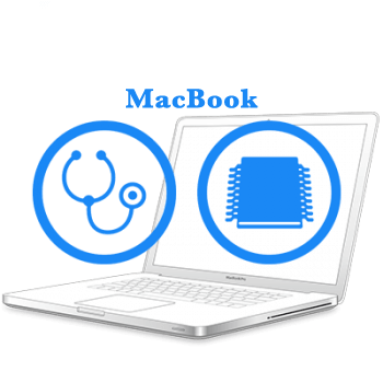 - Діагностика плати MacBook