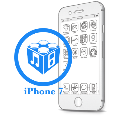 Ремонт iPhone 7 Перепрошивка