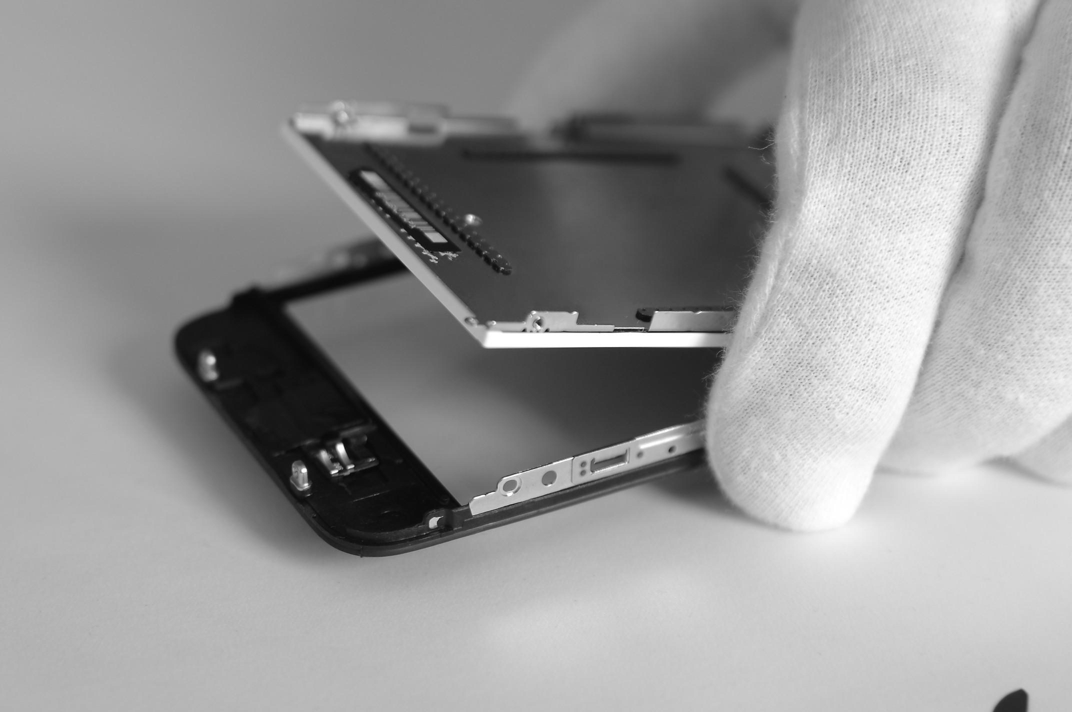 Замена стекла iphone 3gs инструкция