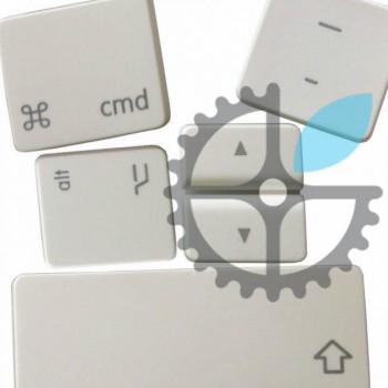"""Белая кнопка / клавиша для MacBook 13"""" A1181"""