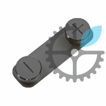 Кнопки гучності (чорні) для iPhone 5