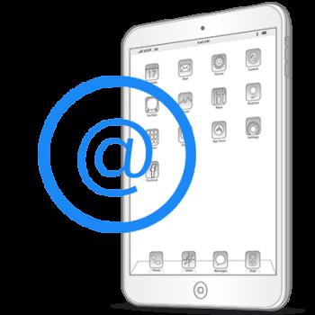 Настройка почты iPad Air