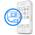iPhone 4 - Обрезка сим-карты под Micro-Sim