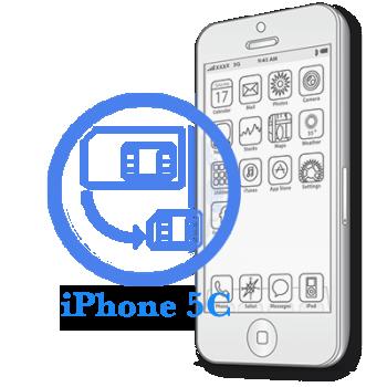 Ремонт iPhone 5C Обрезка сим-карты под Nano-Sim
