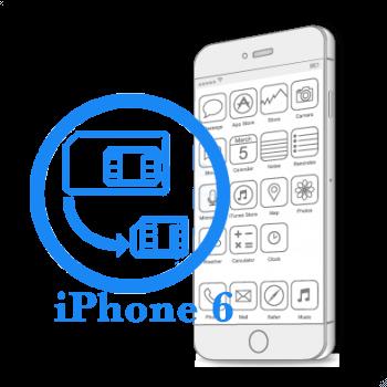 Ремонт iPhone 6 Обрезка сим-карты под Nano-Sim