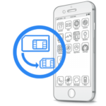 Обрезка сим-карты под Nano-Sim iPhone 7 Plus