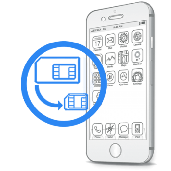 iPhone 7 Plus - Обрізка сім-карти під Nano-Sim