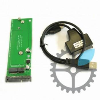Переходник SSD — SATA адаптер для MacBook Air А1465, А1466 (2012)