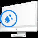 iMac- Ремонт после попадания влаги в