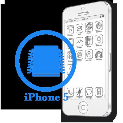 iPhone 5 - Ребол флеш памяти