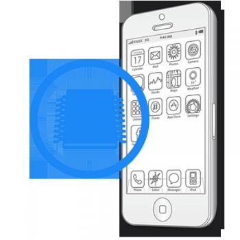 Ребол флеш памяти iPhone 5C