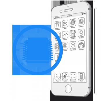 Ребол флеш памяти iPhone 6S Plus
