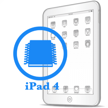 Ребол/замена флеш памяти iPad 4