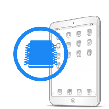 Ребол/замена флеш памяти iPad mini Retina
