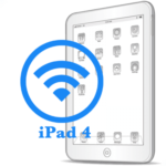 iPad 4- Замена антенны WiFi