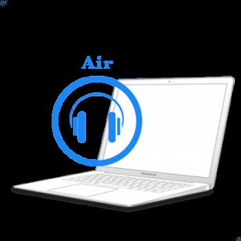 Ремонт Ремонт iMac та MacBook MacBook Air 2010-2017 Ремонт аудіо-роз'єму на