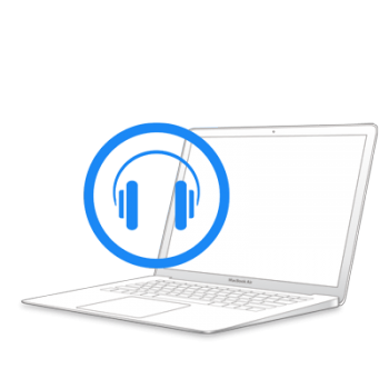 Ремонт аудио-разъема на MacBook Air