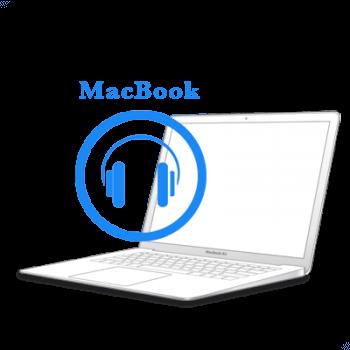 - Ремонт аудио-разъемаMacBook