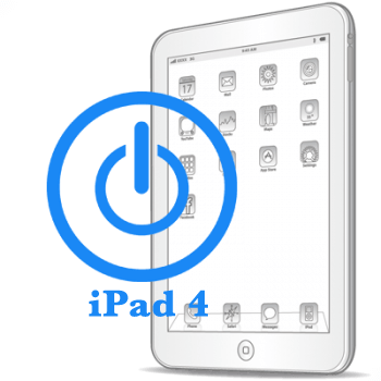 Ремонт Ремонт iPad iPad 4 Ремонт кнопки включения (блокировки)