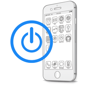 Восстановление-замена кнопки Power (включения, блокировки) iPhone 6