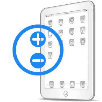 Ремонт кнопок громкости iPad 3 (new)