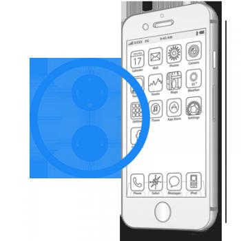 Ремонт кнопок громкости iPhone 7
