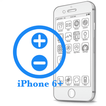 Ремонт iPhone 6 Plus Ремонт кнопок гучності на