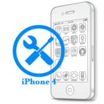 Ремонт iPhone 4 Замена приемопередатчика