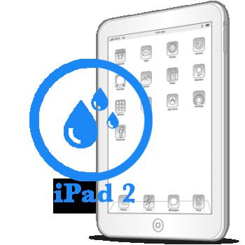Чистка планшета iPad 2 после попадания влаги