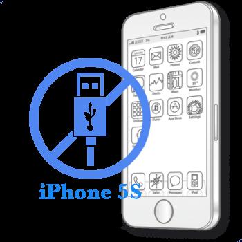 Ремонт iPhone 5S Замена разъёма синхронизации (зарядки)