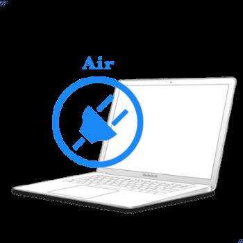 Ремонт Ремонт iMac та MacBook MacBook Air 2010-2017 Ремонт/заміна роз'єму (гнізда) зарядки MacBook Ремонт роз'єму зарядки