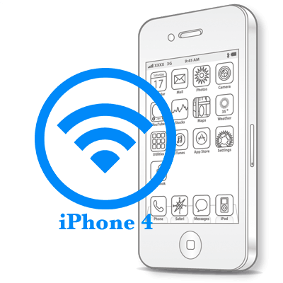 Ремонт iPhone 4 Замена Wi-Fi антенны