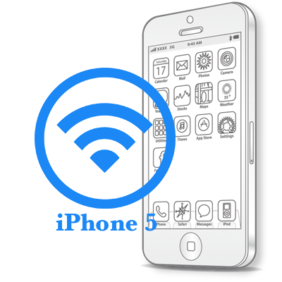 Ремонт iPhone 5 Ремонт модуля WiFi в