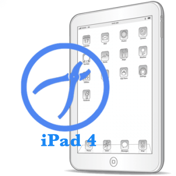 Ремонт Ремонт iPad iPad 4 Рихтовка корпуса на