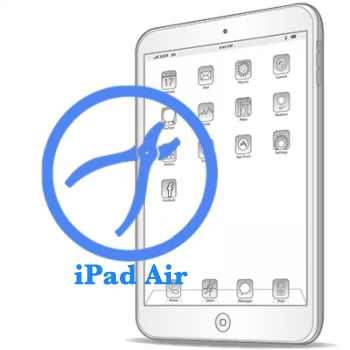 Рихтовка корпуса на iPad Air