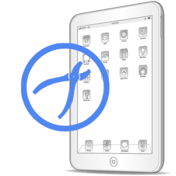 Рихтовка корпуса на iPad3