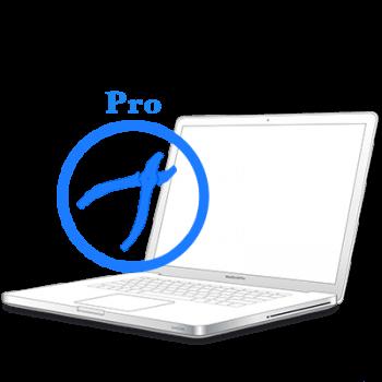 Рихтовка корпуса на MacBook Pro