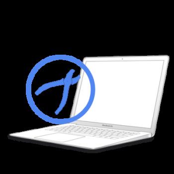 Рихтовка корпуса на MacBook Air