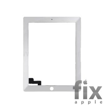 Сенсорное стекло для iPad 2 (белое)
