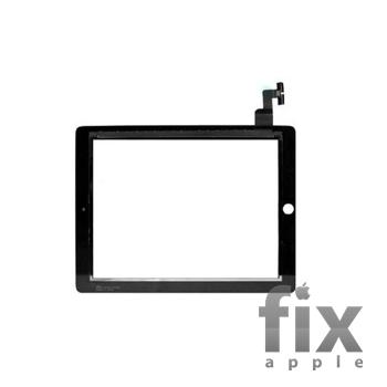 Сенсорне скло (тачскрін) для iPad 2 (чорне)