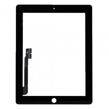 Сенсорное стекло (тачскрин) для iPad 3 (чёрное)