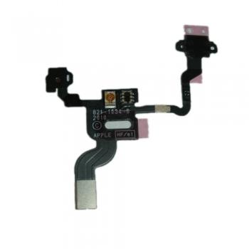 Шлейф кнопки включення і датчиків освітленості для iPhone 4