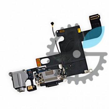 Шлейф разъёма зарядки, синхронизации и аудио для iPhone 6S (черный)