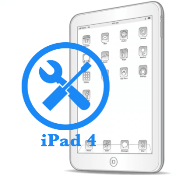 Ремонт Ремонт iPad iPad 4 Устранение неполадок по плате