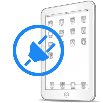 Восстановление цепи питания iPad 4