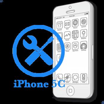 Ремонт iPhone 5C Восстановление коннекторов платы